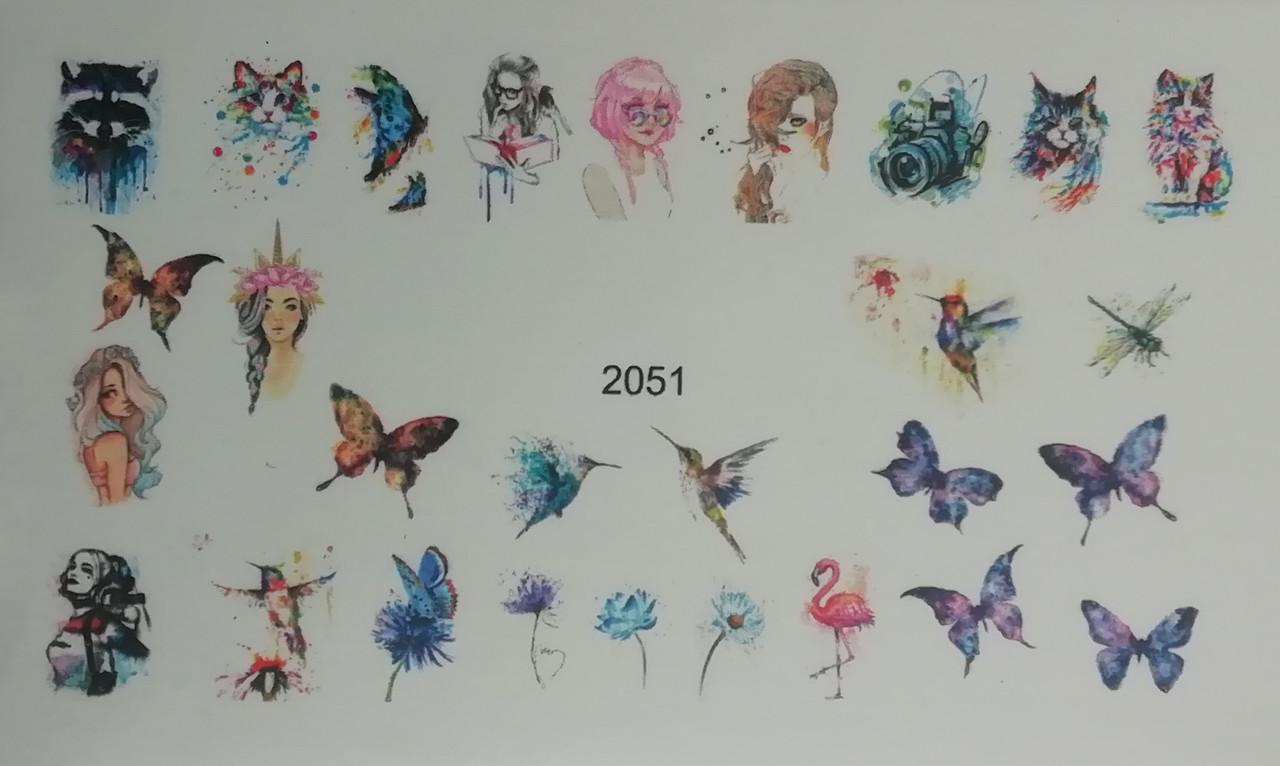 Слайдер для ногтей № 2051