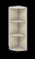 Шкаф угловой офисный средний Сенс 332х332х1154 S4.60.11