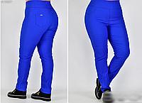 Женские брюки с широким поясом стрейчевые, с 50-64 размер, фото 1