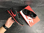 Мужские кроссовки Nike Free Run 5.0 (черно-красные) , фото 3