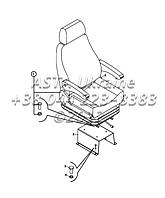 Кресло водителя на  Hidromek 102B