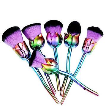 Кисть для макияжа Цветок