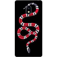 Силиконовый бампер чехол для Samsung J730 Galaxy J7 2017 года с рисунком Змея Gucci