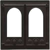 Дверь каминная Pisla HTT 118 (500x500)
