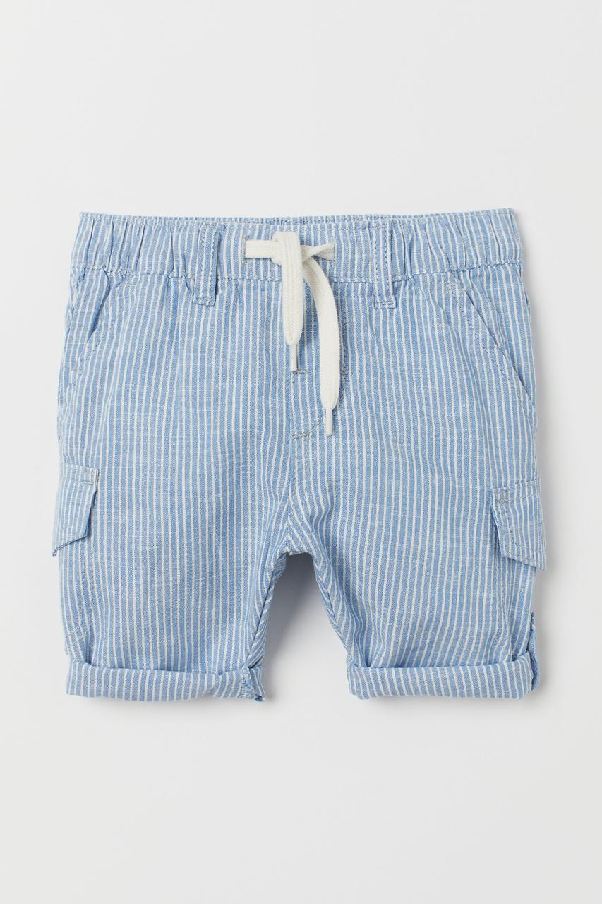 Брюки-шорты H&M голубые (SW-11)