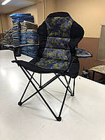 """Кресло раскладное """"Рыбак Люкс Милитари"""" с чехлом для туризма"""