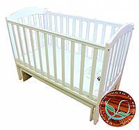 Детская кроватка Соня ЛД 10 (маятник)