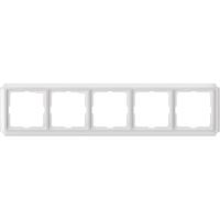Рамка 5-постовая ANTIK, белый Shneider Merten (MTN483519)