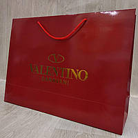 Подарочный пакет Valentino, горизонт, макси