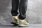 Мужские кроссовки Nike Free Run 5.0 (темно-зеленые) , фото 3