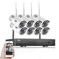 Набор камер видеонаблюдения Wi-Fi KIT 8CH