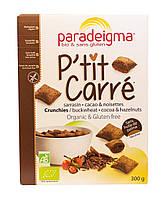 Кранчи из гречневой муки с какао и лесным орехом Paradeigma, без глютена
