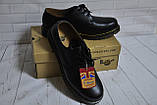 Ботинки полуботинки туфли Dr.Martens 1461 (BLACK) Размер 41 42 43 44 45, фото 2