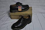 Ботинки полуботинки туфли Dr.Martens 1461 (BLACK) Размер 41 42 43 44 45, фото 6