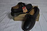 Ботинки полуботинки туфли Dr.Martens 1461 (BLACK) Размер 41 42 43 44 45, фото 7