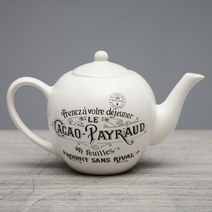 "Чайник заварочный Прованс ""Le Cacao Payraud"" евро, 0.7 л"