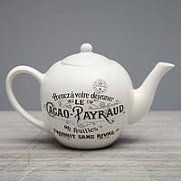 "Чайник заварочный Прованс ""Le Cacao Payraud"" евро, 0.7 л, фото 1"