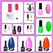 Гель-лаки Nails Molekula/ Nice/ Koto/ Tertio/ Oxxi/ Beauty Choice
