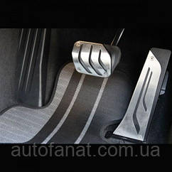 Оригинальные накладки на педали BMW Performance (АКПП) BMW X5 (F15) (35002232278)