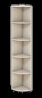 Шкаф угловой офисный высокий Сенс 332х332х1924 S4.60.19