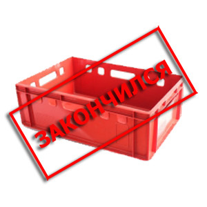 Ящик прямоугольный магазинный 600х400х200мм