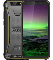 "Смартфон Blackview BV5500 Black-Yellow 2/16Gb, 8+0,3/5Мп, IP68, 4 ядра, 2sim, 5.5"" IPS, 3G, 4400mAh, MT6580P"