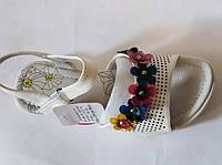 Белые нарядные босоножки на девочку Arial 33 р., 21 см, фото 1