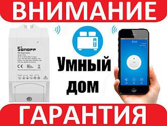 SONOFF TH10 Беспроводной WiFi выключатель с мониторингом температуры и влажности (без датчика)