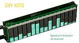 Набор эквалайзер + спектро-анализатор звука 16 полосный, много режимный АРУ . Комплект DIY, фото 4