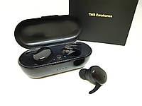 Беспроводные влагозащитные сенсорные Bluetooth  наушники  T2C, фото 1