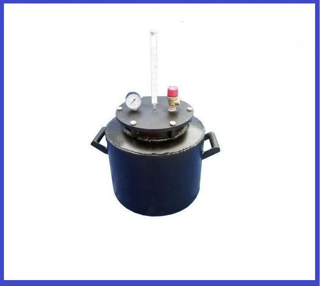 Автоклав Черный мини болты газ (0,5-10 банок, 1л-5 банок)