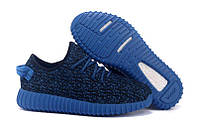 Кроссовки мужские Adidas Yeezy 350 Boost синие