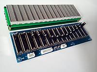 Набор эквалайзер + спектро-анализатор звука 16 полосный, много режимный АРУ . Комплект DIY, фото 1