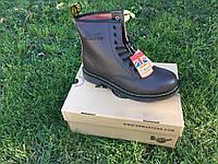 Ботинки Dr.Martens 1460 (КОРИЧНЕВЫЕ) Размер 41 42 43 44 45, фото 1