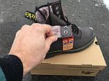 Ботинки с мехом Dr.Martens 1460 (КОРИЧНЕВЫЕ) Размер 41 42 43 44 45, фото 4