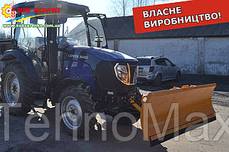 Отвал лопата для мини трактора (минитрактор от 25 л.с.). Новые отвалы для снега Кобзаренко
