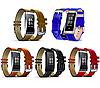 Фитнес браслет, фитнес трекер Mavens Y2, пульсометр, тонометр, черный, фото 5