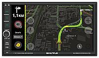 Магнитола 2DIN c GPS, Android Shuttle SDUA-7050 Black/Green