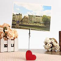Красные картинки сердца смолы крокодил карты стоят фото держателя карты памятки скрепка сообщение 1TopShop