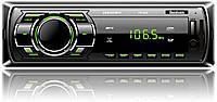 Автомагнитола 1DIN на флешку и карточку Fantom FP-302 Black/Green