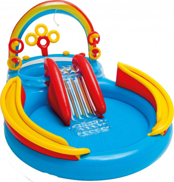 Детский надувной бассейн Intex 57453 Радуга