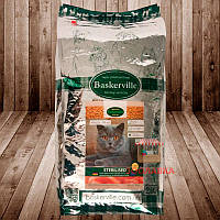 Сухой корм для кошек Baskerville Баскервиль Sterilised, 20кг