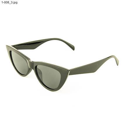 Оптом очки кошачий глаз - Черные - 1-008, фото 3
