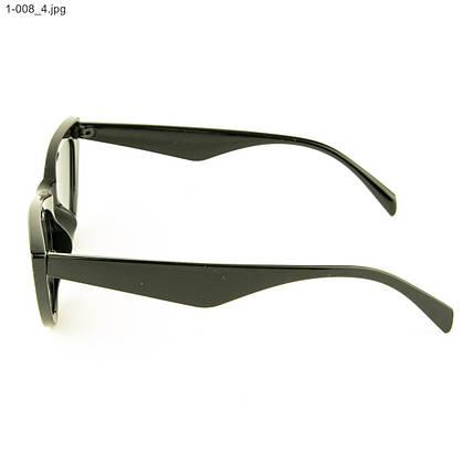 Оптом очки кошачий глаз - Черные - 1-008, фото 2