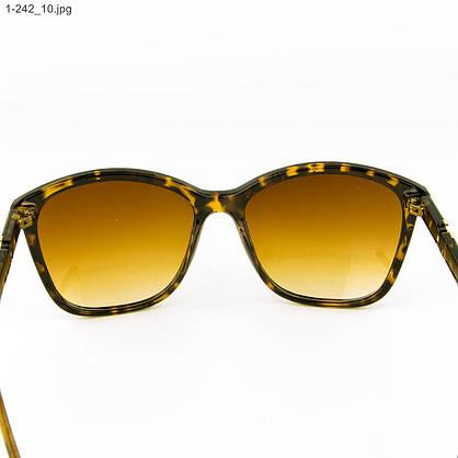 Оптом очки солнцезащитные женские - леопардовые - 1-242, фото 3