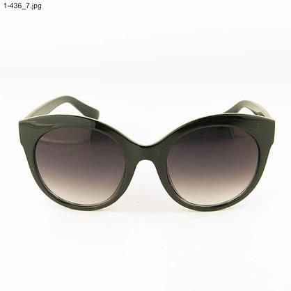 Оптом женские очки солнцезащитные - черные - 1-436, фото 2