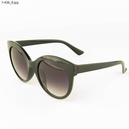 Оптом женские очки солнцезащитные - черные - 1-436, фото 3