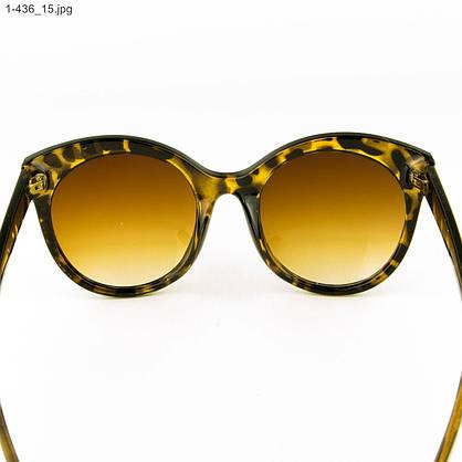 Оптом женские очки солнцезащитные - леопардовые - 1-436, фото 3