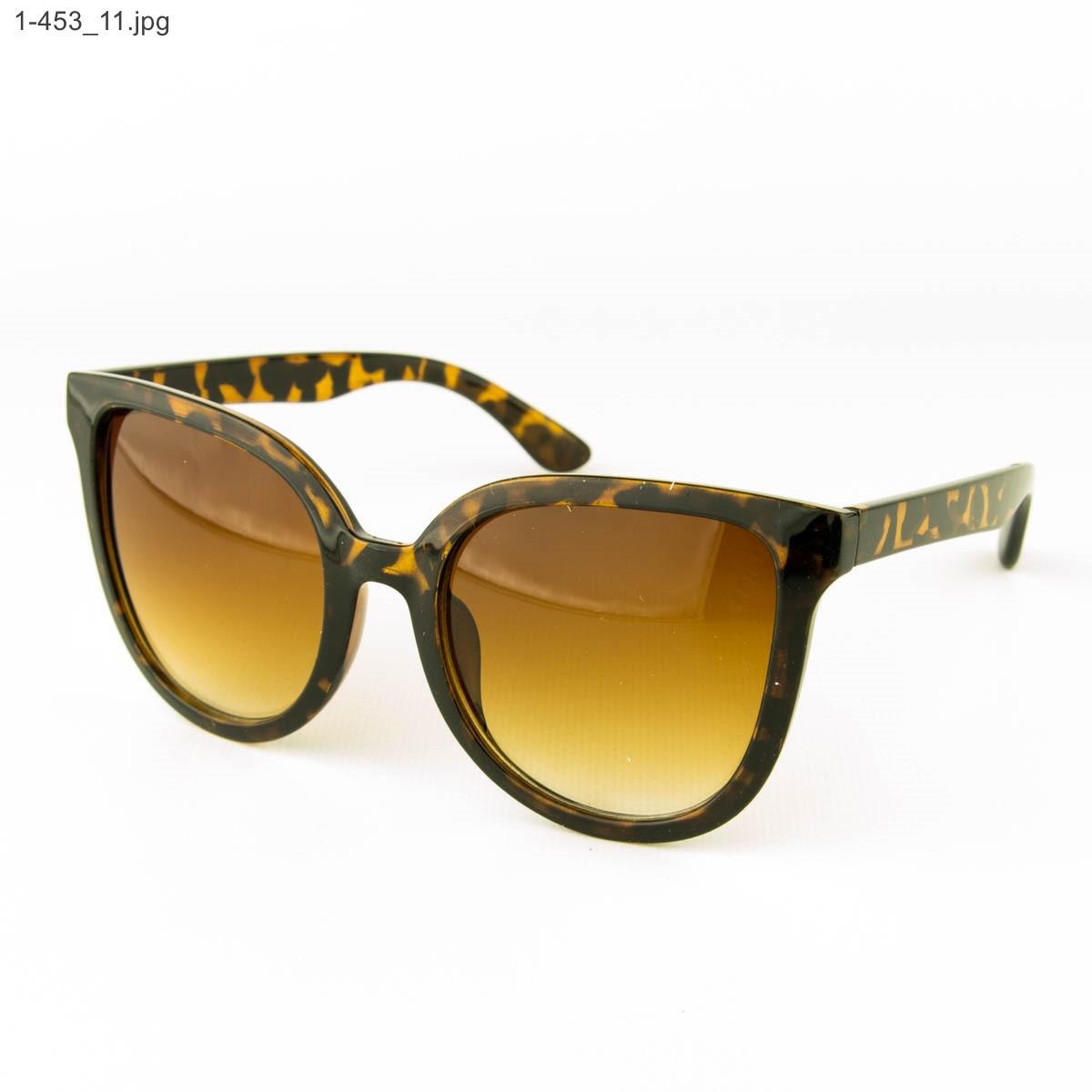 Оптом солнцезащитные женские очки - Леопардовые - 1-453