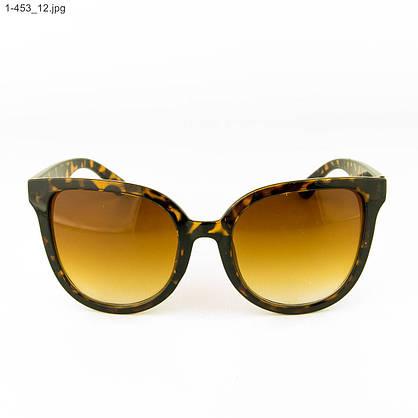 Оптом солнцезащитные женские очки - Леопардовые - 1-453, фото 2